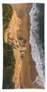 Where Land Meets The Sea Beach Towel