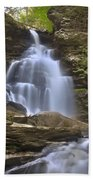 Where Waters Flow Beach Towel