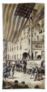 Whig Party Parade, 1840 Beach Towel
