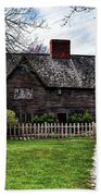 The John Whipple House In Ipswich Beach Towel