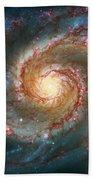 Whirlpool Galaxy  Beach Towel