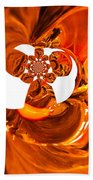 Whirls Abstract Beach Towel