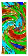 Whirlwind - Abstract Art Beach Towel