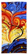 Whirlwind By Madart Beach Towel