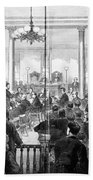 Whiskey Ring Trial, 1876 Beach Towel