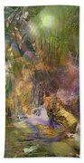 Whispering Waters Beach Towel