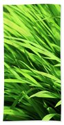 Whistle The Grass Beach Towel
