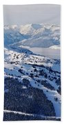 Whistler In Winter Beach Towel