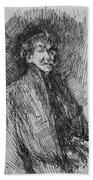 Whistler, Self-portrait.  Beach Towel