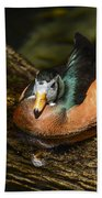 White-faced Whistling Duck  Beach Towel