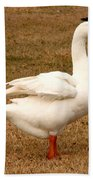 White Goose 2 Beach Towel