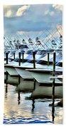 White Marlin Open Beach Sheet