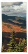 White Mountain Foliage Beach Towel