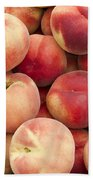 White Peaches Beach Towel