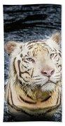 White Tiger 20 Beach Towel
