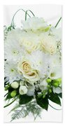 Wedding Bouquet  Beach Towel