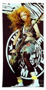 White Zombie 93-sean-0337 Beach Towel