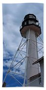 Whitefish Point Lighthouse II Beach Towel