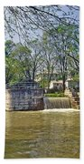 Whitewater Canal Metamora Indiana Beach Towel