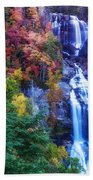 Whitewater Falls Beach Towel
