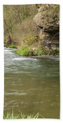 Whitewater River Spring 42 Beach Towel