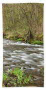 Whitewater River Spring 44 Beach Towel