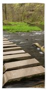 Whitewater River Spring 52 Beach Towel