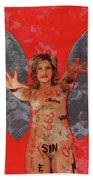 Whore Of Babylon By Mb Beach Towel