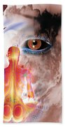 Whose I Is Eckharts Eye Beach Towel