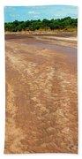 Wide Thwake River Beach Towel