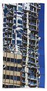 Wiggly Balconies Beach Towel
