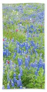 Wild About Wildflowers Of Texas. Beach Towel