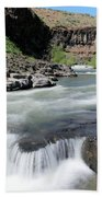 Wild And Scenic White River Beach Towel