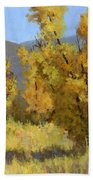 Wild Autumn Beach Towel