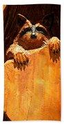 Wild Bandit  Beach Towel