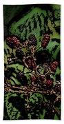 Wild Berries Beach Towel