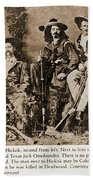 Wild Bill Hickok, Buffalo Bill Beach Towel