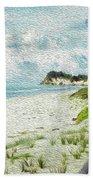 Wild Coastline Beach Towel