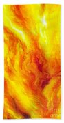 Wild Fire 03 Beach Towel