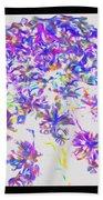 Wild Flower Bouquet Beach Towel