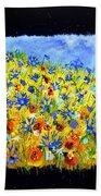 Wild Flowers 677130 Beach Towel
