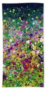 Wild Flowers Beach Sheet