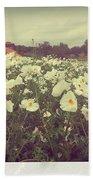 Wild Flowers Soft Beach Towel