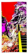 Wild Goddess At Kashi Beach Towel by Eikoni Images