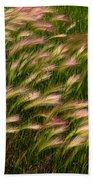 Wild Grasses Beach Towel