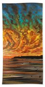 Wild Hearted Sun - Santa Cruz Beach Towel