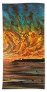 Wild Hearted Sun - Santa Cruz Beach Sheet