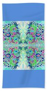 Wild Island Creation 1 Fractal B Beach Towel