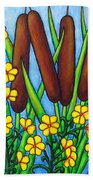 Wild Medley Beach Towel