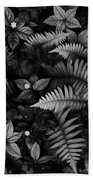 Wild Plants Beach Towel